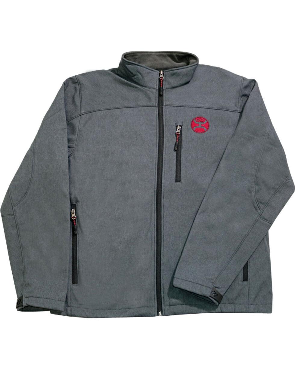 Hooey Boys' Grey Crimson Fleece Lining Jacket , Grey, hi-res