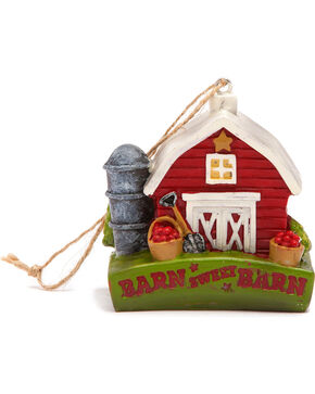 BB Ranch Barn Sweet Barn Ornament, No Color, hi-res