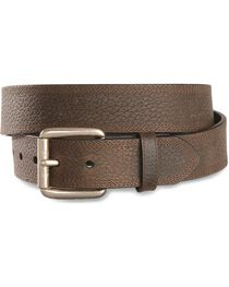 Ariat Men's Triple Row Stitch Leather Belt, , hi-res