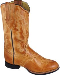 Smoky Mountain Showdown Cowgirl Boots - Round Toe, , hi-res