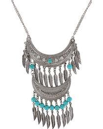 Shyanne® Women's Double Fringe Necklace , , hi-res