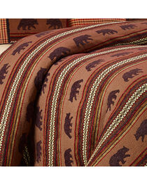 HiEnd Accents Bayfield Bear Queen Duvet, , hi-res