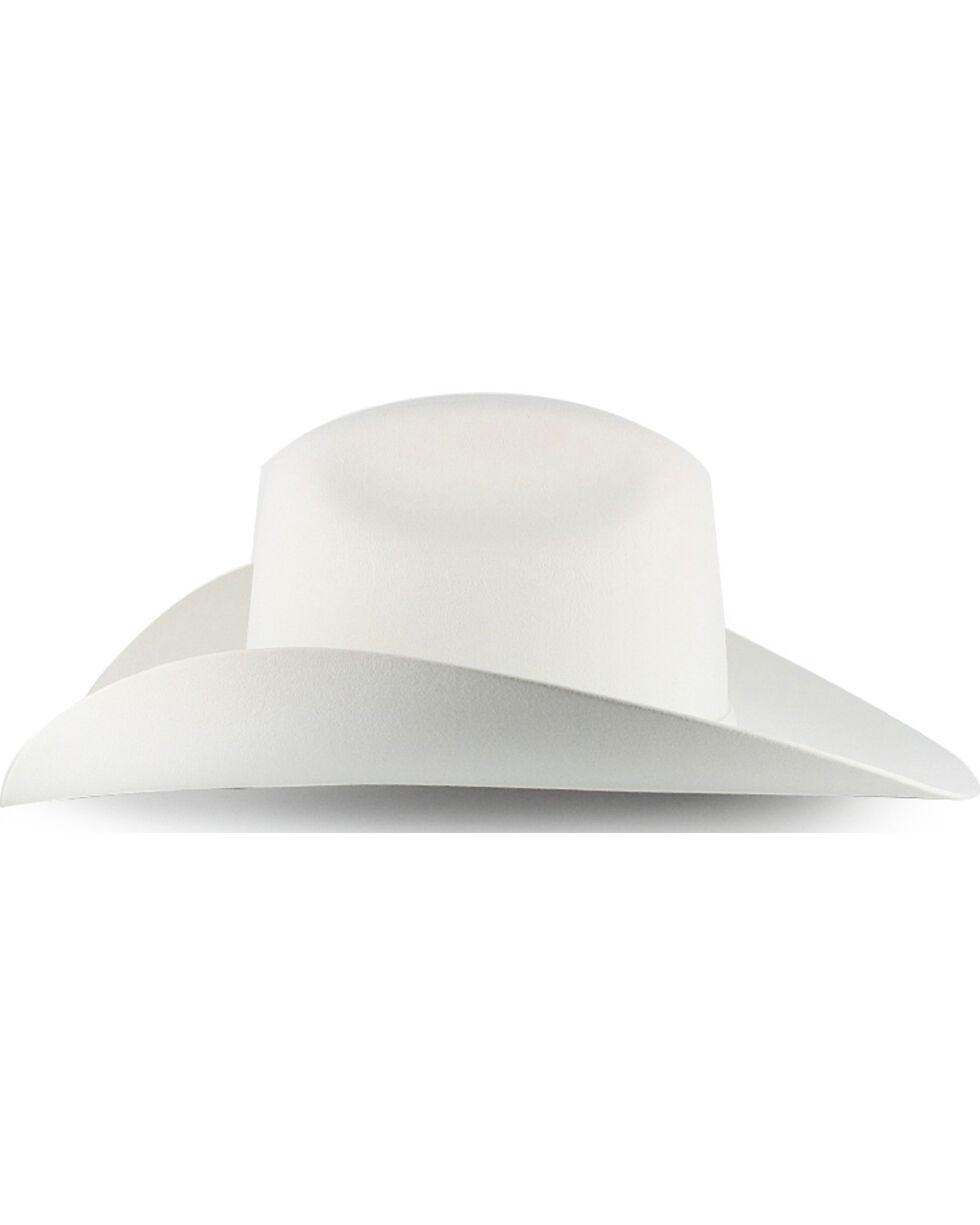 Serratelli 6X Beaver Fur Felt Cowboy Hat, White, hi-res