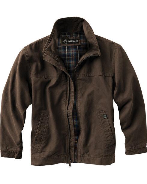 Dri Duck Men's Maverick Work Jacket - Big and Tall , Brown, hi-res