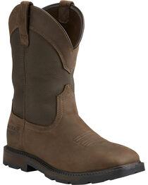 Ariat Men's Groundbreaker H2O Steel Toe Work Boots, , hi-res