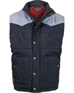 Cody James Men's Squaw Valley Insulated Vest - Big, Black, hi-res