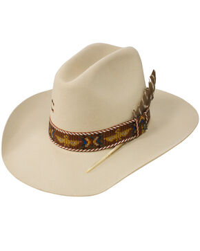 Charlie 1 Horse Women's 5X Totem Pole Hat, Ivory, hi-res