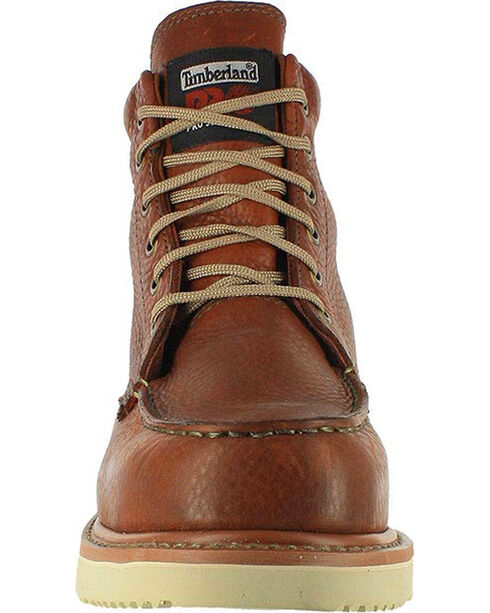 "Timberland Pro Men's 6"" Work Boots, Brown, hi-res"