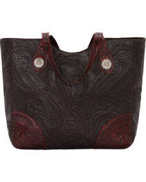 American West Women's Annie's Secret Compartment Tote, , hi-res