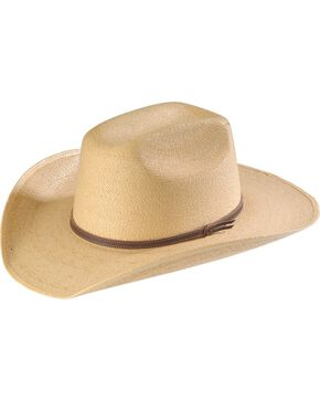 Infant's Palm Leaf Straw Cowboy Hat, Natural, hi-res