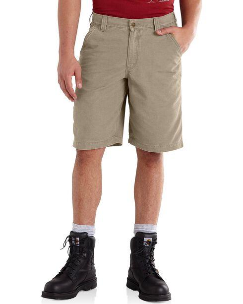 Carhartt Ardmore Khaki Shorts, Tan, hi-res