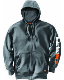 Timberland Pro Men's Hood Honcho Water-Repellent Full-Zip Hoodie, , hi-res