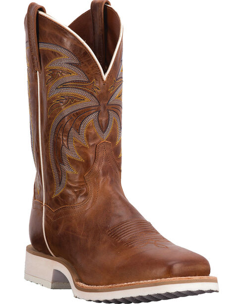 Dan Post Men's Cayenne Cowboy Certified Western Boots, Chestnut, hi-res