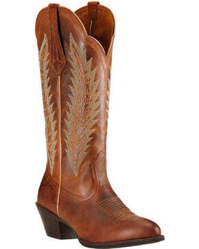 Ariat Women's Desert Sky Western Boots, Brown, hi-res