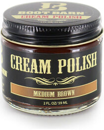 BB Ranch Medium Brown Leather Cream Polish , , hi-res