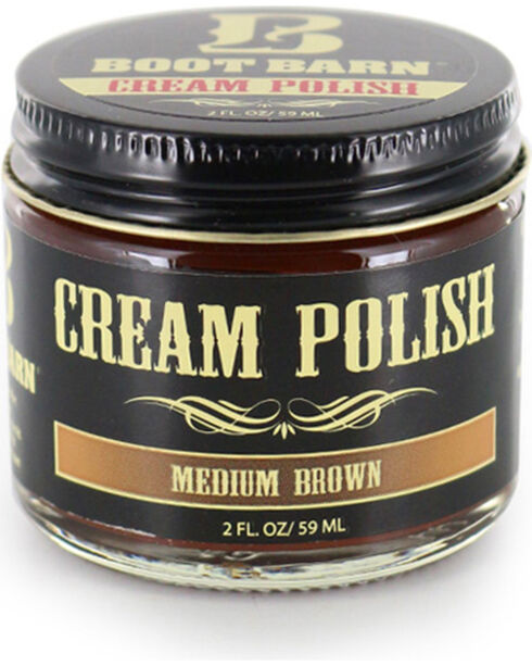 BB Ranch Medium Brown Leather Cream Polish , Lt Brown, hi-res