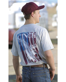 Cinch Boys' American Logo Graphic Tee, , hi-res