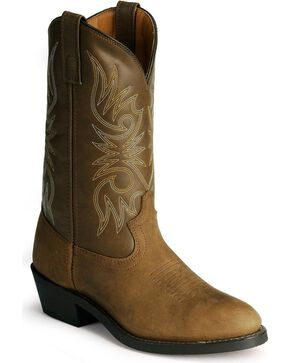 Laredo Men's Paris Western Boots, Distressed, hi-res