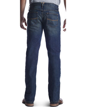 Ariat Men's M5 Swagger Low Rise Slim Fit Jeans - Straight Leg, Indigo, hi-res