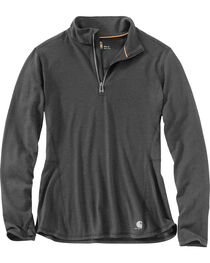 Carhartt Women's Force Ferndale Quarter Zip Pullover , , hi-res