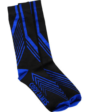 Cody James® Men's Coolmax® Performance Socks, Black, hi-res