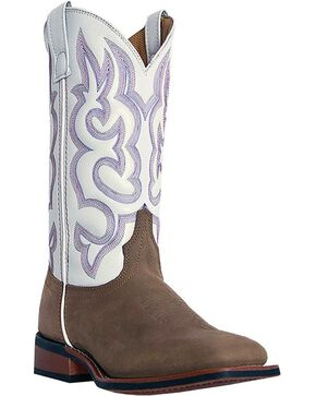 Laredo Women's Mesquite Western Boots, Taupe, hi-res