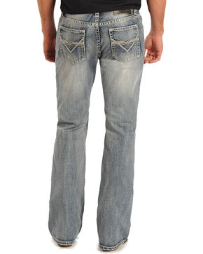 Rock & Roll Cowboy Men's Pistol Boot Cut Jeans, Indigo, hi-res