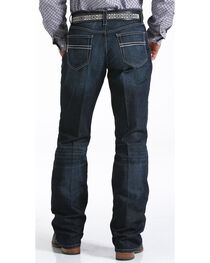 Cinch Men's Carter Relaxed Dark Wash Jeans, , hi-res