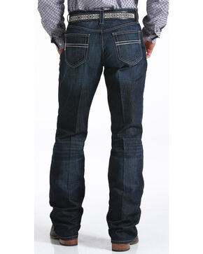 Cinch Men's Carter Relaxed Dark Wash Jeans, Indigo, hi-res