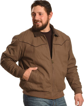 Cody James Men's Lone Star Jacket, Camel, hi-res