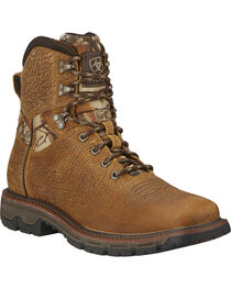 "Ariat Men's 6"" Conquest Waterproof Boots, , hi-res"