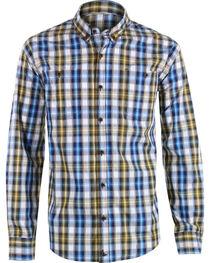 Cody James Men's Oak Tree Long Sleeve Western Shirt, , hi-res