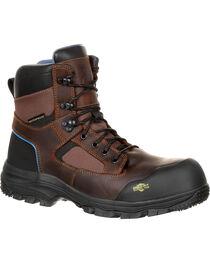 "Georgia Men's 6"" Composite Toe Work Boots, , hi-res"