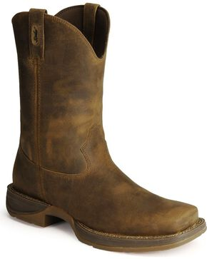 "Durango Men's Rebel 10"" Western Boots, Brown, hi-res"