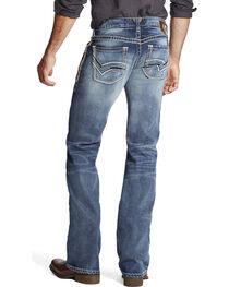 Ariat Men's Faded Boot Cut Jeans, , hi-res