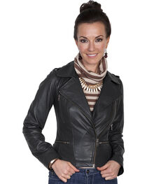 Scully Leatherwear Motorcycle Lamb Jacket , , hi-res