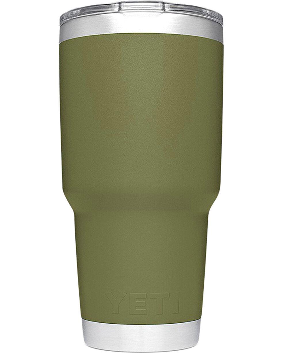 Yeti Olive Green 30oz. Sliding Lid Rambler , , hi-res