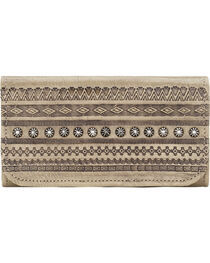 American West Women's Trading Post Tri-Fold Wallet, , hi-res
