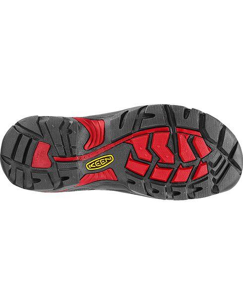 Keen Men's Pittsburgh Waterproof Steel Toe Work Boots, Bison, hi-res