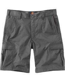 Carhartt Men's Dark Khaki Force Extremes Cargo Shorts , , hi-res