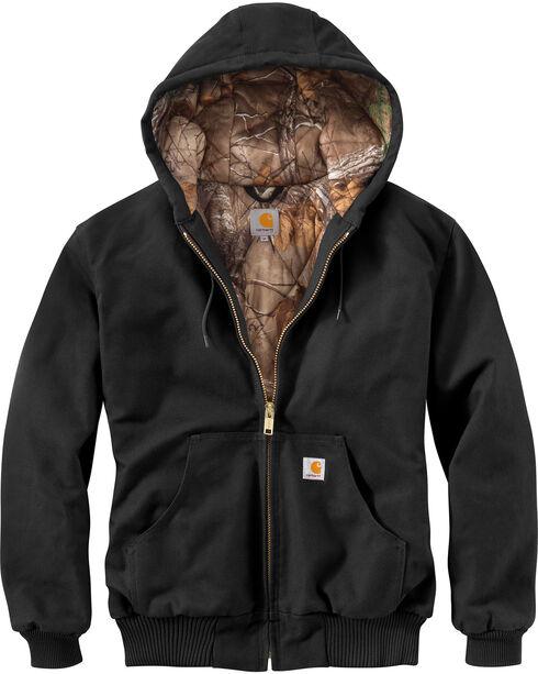 Carhartt Men's Huntsman Active Jacket - Big & Tall, Black, hi-res