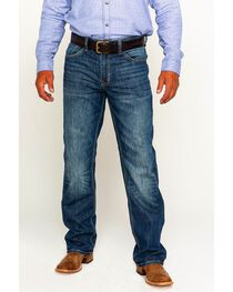 Cody James® Men's Terlingua Medium Wash Stretch Boot Cut Jeans, , hi-res