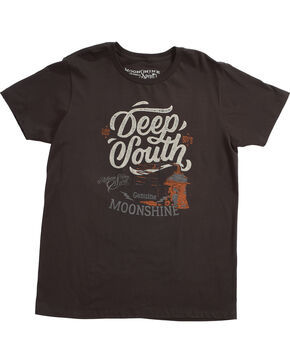 Moonshine Spirit Men's Deep South Tee, Black, hi-res