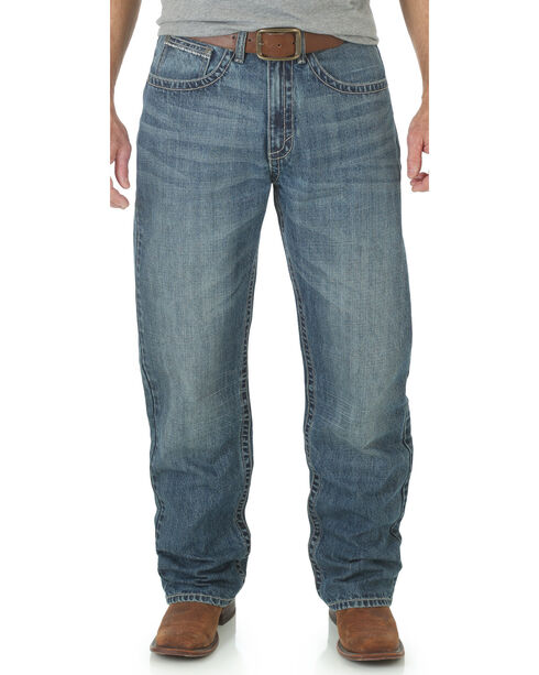 Wrangler 20X Men's Limited Edition 33 Extreme Relaxed Jeans, Med Blue, hi-res