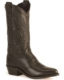 "Abilene Women's 11"" Tooled Feather Western Boots, , hi-res"