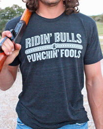 Dale Brisby Men's Ridin' Bulls & Punchin' Fools Shirt , , hi-res