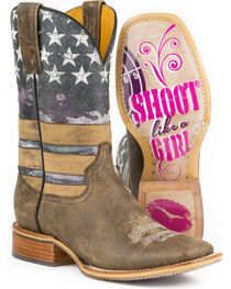 Tin Haul Women's American Woman Western Boots, , hi-res