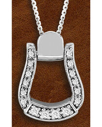 Kelly Herd Sterling Silver Small Oxbow Pendant, Silver, hi-res