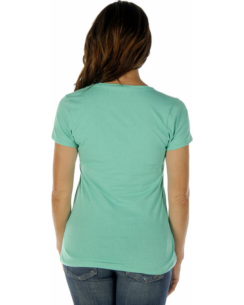 Liberty Wear Women's Vintage Classic Short Sleeve Tee, Lt Green, hi-res