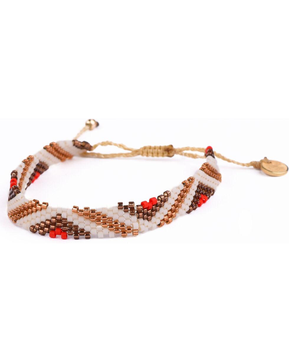Kutula Kiss Women's White Small TE-Tango Bracelet , White, hi-res